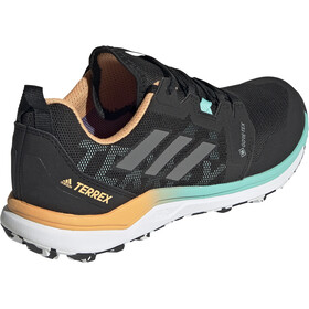 adidas TERREX Agravic GTX Trail Running Shoes Women, core black/grey four/hazy orange